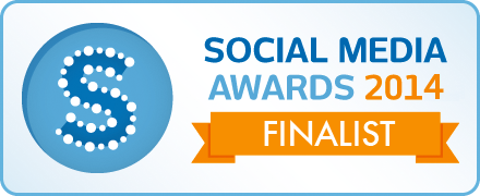 I'm a Finalist for Social Media Awards 2014