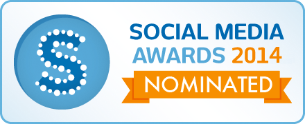 Nominated for the 2014 Social Media Awards