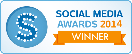 2014 Social Media Awards winner