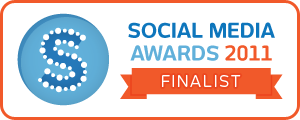 Social Media Awards - Finalist badge
