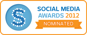 Social Media Awards – Nominated badge