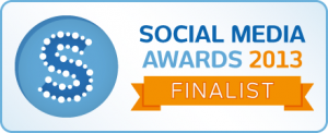 Social Media Awards Finalist 2013