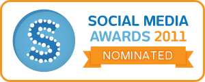 Social Media Awards - Nominated badge